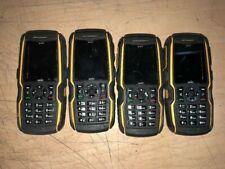 Sonim Xp Strike Xp3410 Black Yellow Sprint Cell Phone Rugged Cam Phone Lot Of 4