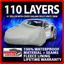 Black Covercraft Custom Fit Car Cover for Select Lincoln Continental Models FS356F5 Fleeced Satin