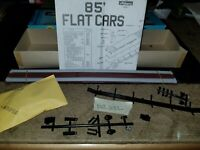 ATHEARN HO SCALE 85ft TRAILER TRANSPORT FLAT CAR, NOS, dec232