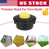High Quality Trimmer Head Fit For Toro Ryobi Replacement Reel Easy String Bump
