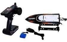 Udirc Venom 2.4GHz  Remote Control RC High Speed Electric Boat Black New