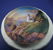 Heceta Head Light~Florence, Or Lighthouses Of America Danbury Mint Plate 1993