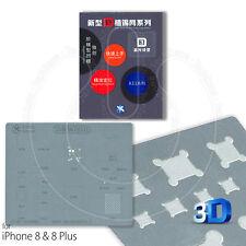 Mijing A11 3D BGA Stencil IC De Reparación De Calor Directo Para Apple iPhone 8, 8 Plus