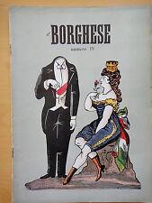 1954-IL BORGHESE-Direttore LEO LONGANESI-Anno V, Numero 39