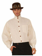 Steampunk Clockwork Shirt with Cravat