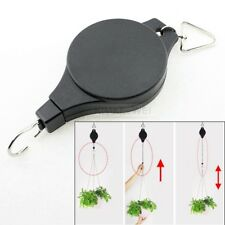 Retractable Hanging Basket Pull Down Hanger Plant Hook Lift Watering Maintenance