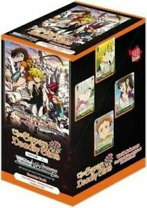 Weiss Schwarz: The Seven Deadly Sins Booster Box - Sealed 20 Packs (English)
