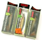 Lot of 3 Old Stock Rapala X-RAP Shad XRS-8 Xtreme Action Lures, Gold, Read