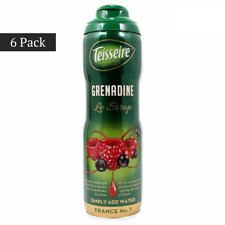 (6 PACK) Teisseire French Grenadine Syrup (20 oz. x 6) Best Price FREE SHIPPING