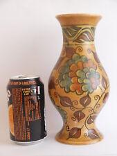 Vintage George Clews Hand Painted Chameleon Ware Vase