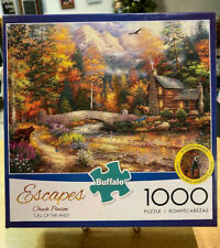 """Buffalo Games Chuck Pinson's """"Call of the Wild"""" 1000 Piece Puzzle w/ Poster"""