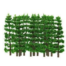 20x FIR TREE HO N SCALE MODEL TRAIN LAYOUT DIORAMA LANDSCAPE SCENERY 9CM