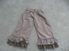 Girls Paint By Numbers Almond Ruffle Pant Size 8
