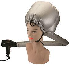 Bonnet diffuseur casque soufflant sylver dry  pour sèche cheveux à main