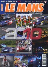 LE MANS RACING n°64 12/2010  BILAN ENDURANCE 2010  1000km de ZUHAI
