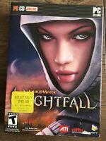 Guild Wars: Nightfall (PC, 2006, NCSoft, 3-Disc) Original