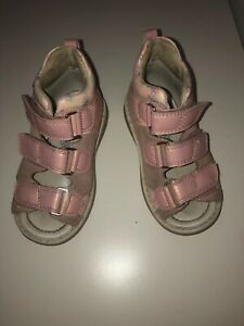 Ortmann Kids Orthopetic Sandals sz 25 made in Ger