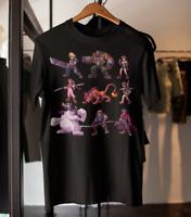 Final Fantasy 7 characters pixel art t-shirt, FF7 Remake gift Cloud Tifa Barret