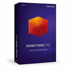 NEW Magix Sound Forge Pro 13 Izotope Noise Reduction Audio Editing PC