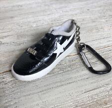 A BATHING APE BAPE STA Sneaker Keychain Black Shoe Key Ring