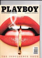 Back Issue November 2013 Playboy ~ Match in Red Lips Cover ~ VERY FINE(VF/NM)