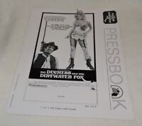 The Duchess and the Dirtwater Fox Pressbook-20th Century Fox-Goldie Hawn