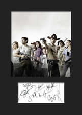 THE WALKING DEAD #2 A5 Signed Mounted Photo Print (Reprint) - FREE DELIVERY