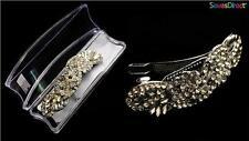 Mode-Haarspangen aus Kristall
