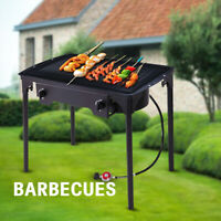 Outdoor Patio Stove -Double Burner Home Griddles Propane Gas Cooker W/ Regulator