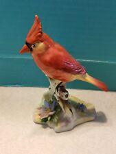 "Royal Adderley ""Virginian Cardinal"" Porcelain Birds England Rare Firgurine"