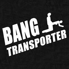 Bang Transporter Porn Shocker Hipster Bulli OEM Sticker Auto Aufkleber JDM 20cm
