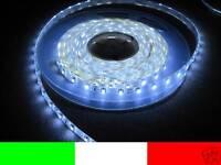 24v 24 LUCI A LED DA ESTERNO 5m STRIP STRISCIA FREDDO B7B4