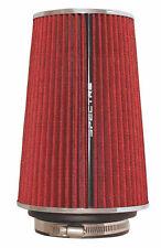 "SPECTRE 9732 LONG RED MULTI FIT POD FILTER 3"", 3-1/2"", 4"" NECK SIMILAR K&N"