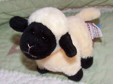 Baby Gund Sweet Peas Small Stuffed Lamb Lambie Sheep Toy 3655 EUC 5""