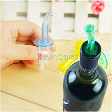 4 x Bottle Pourer Pour Spout Stopper Dispenser Liquor Flow Olive Wine Oil SY#47