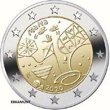 5x2 EURO GEDENKMUNZE MALTA 2020 SPIELE