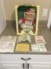 vintage cabbage patch doll in french box, Jesmar