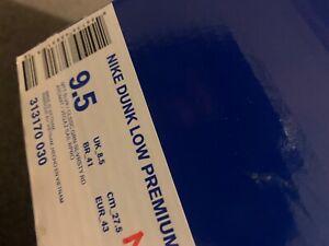 2012 Nike SB Dunk Medusa size 9.5 with original box. RARE colorway313170-030