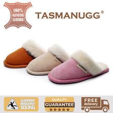 Tasman UGG-Slippers/Scuffs,Australian Sheepskin inline & suede upper,Unisex,0003