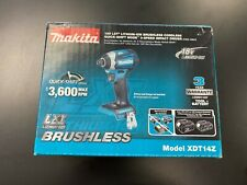Makita XDT14Z 18V LXT Li-ion Brushless Cordless Impact Driver (Tool Only) NEW !!