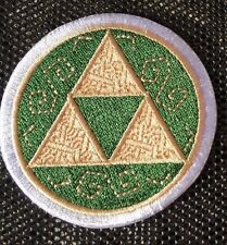 1 x Complete Triforce Legend of Zelda Embroidered Patch Sew On Iron on Badge NEW