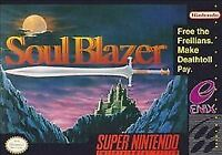 Soul Blazer (Super Nintendo Entertainment System, 1992)VG - CART ONLY