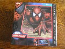 2002 Pressman Official Movie Merchandise SPIDER~MAN 100~Pc. Puzzle Ages 5-8~~NIB