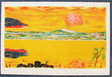 BONNARD  - SUNSET ON THE MEDITERRANEAN ORIGINAL LITHOGRAPH - 1949 - FREE US SHIP