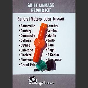 Chevrolet Impala 94-96 Transmission Shift Cable Repair Kit w/ bushing EASY FIX!