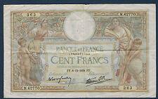 FRANCE - 100 FRANCS L.O MERSON Fay n° 24. 36 du 8-12-1938. en TTB   M.62770 363