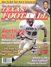 2000 Dave Campbell's Texas Football Magazine Cedric Benson Midland Lee HS