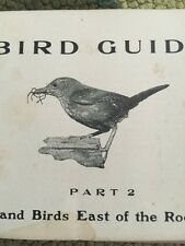 Antique Bird Guide Land Birds East Of The Rockies 1912 Chester Reed