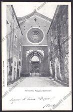 NOVARA SAN NAZZARO SESIA 14 ABBAZIA Cartolina VIAGGIATA 1909
