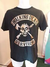 The Walking Dead Survivor T-shirt delta pro weight size medium, black